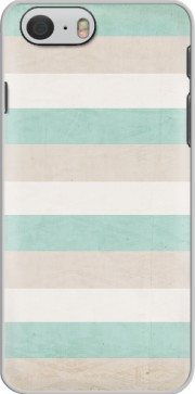 Capa aqua and sand stripes