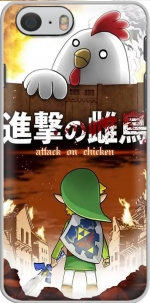 Capa Attack On Chicken for Iphone 6 4.7