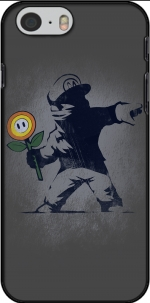 Capa Banksy Flower bomb for Iphone 6 4.7