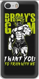 Capa Broly Training Gym for Iphone 6 4.7