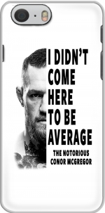 Capa Conor Mcgreegor Dont be average for Iphone 6 4.7