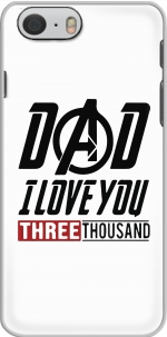 Capa Dad i love you three thousand Avengers Endgame for Iphone 6 4.7