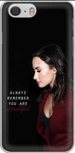 Capa Demi Lovato Always remember you are beautiful for Iphone 6 4.7