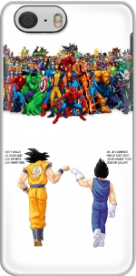 Capa DragonBall x Marvel Combat for Iphone 6 4.7