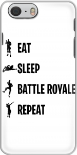 Capa Eat Sleep Battle Royale Repeat for Iphone 6 4.7