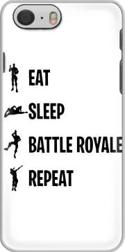 Capa Eat Sleep Battle Royale Repeat para iphone-6