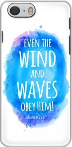 Capa Even the wind and waves Obey him Matthew 8v27 for Iphone 6 4.7