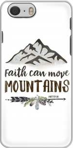 Capa Faith can move montains Matt 17v20 Bible Blessed Art for Iphone 6 4.7