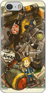 Capa Fallout Painting Nuka Coca for Iphone 6 4.7