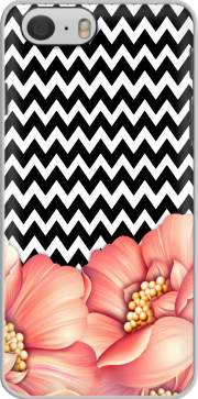 Capa flower power and chevron