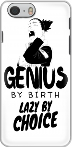 Capa Genius by birth Lazy by Choice Shikamaru tribute for Iphone 6 4.7