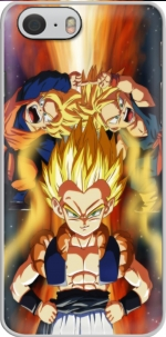Capa Gotenks Gohan x Trunks fusion for Iphone 6 4.7