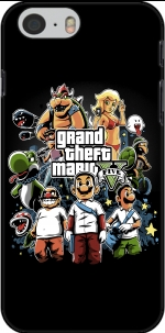 Capa Grand Theft Mario for Iphone 6 4.7