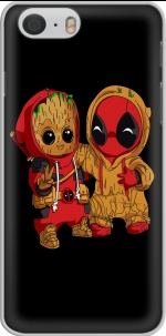 Capa Groot x Deadpool for Iphone 6 4.7