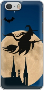 Capa Halloween Moon Background Witch for Iphone 6 4.7