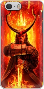 Capa Hellboy in Fire for Iphone 6 4.7