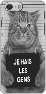 Capa I hate people Cat Jail for Iphone 6 4.7