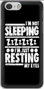 Capa im not sleeping im just resting my eyes for Iphone 6 4.7
