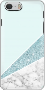 Capa Initiale Marble and Glitter Blue for Iphone 6 4.7