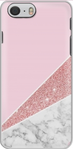 Capa Initiale Marble and Glitter Pink for Iphone 6 4.7
