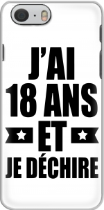 Capa Jai 18 ans et je dechire for Iphone 6 4.7