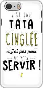 Capa Jai une tata cinglee et jai pas peur de men servir for Iphone 6 4.7