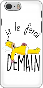 Capa Je le ferai demain Homer Donuts for Iphone 6 4.7