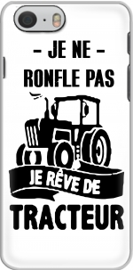 Capa Je ne ronfle pas je reve de tracteur for Iphone 6 4.7