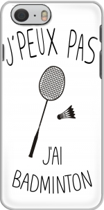 Capa Je peux pas jai badminton for Iphone 6 4.7