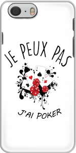 Capa Je peux pas jai poker for Iphone 6 4.7