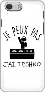 Capa Je peux pas jai techno Festival for Iphone 6 4.7