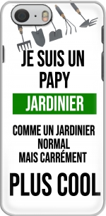 Capa Je suis un papy jardinier comme un papy normal mais plus cool for Iphone 6 4.7