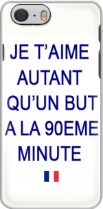 Capa Je t aime autant qu un but a la 90eme minutes for Iphone 6 4.7