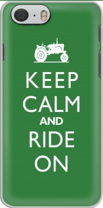 Capa Keep Calm And ride on Tractor for Iphone 6 4.7