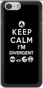 Capa Keep Calm Divergent Faction for Iphone 6 4.7