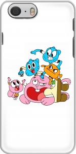 Capa le monde incroyable de gumball for Iphone 6 4.7