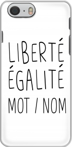 Capa Liberte Egalite Personnalisable for Iphone 6 4.7