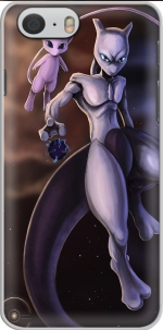 Capa Mew And Mewtwo Fanart for Iphone 6 4.7