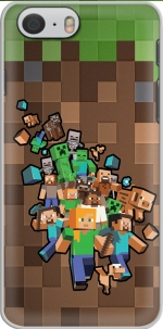Capa Minecraft Creeper Forest for Iphone 6 4.7