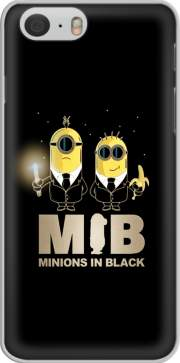Capa Minion in black mashup Men in black