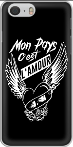 Capa Mon pays cest lamour for Iphone 6 4.7