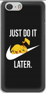 Capa Nike Parody Just Do it Later X Pikachu for Iphone 6 4.7