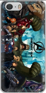 Capa One Piece Mashup Avengers for Iphone 6 4.7