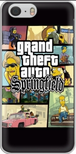 Capa Simpsons Springfield Feat GTA for Iphone 6 4.7