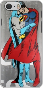 Capa Superman And Batman Kissing For Equality for Iphone 6 4.7