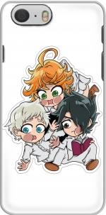 Capa The Promised Neverland - Emma, Ray, Norman Chibi for Iphone 6 4.7