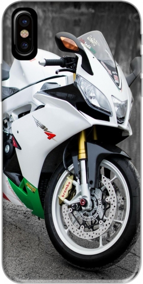 Capa aprilia moto wallpaper art para iphone-8