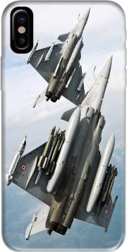 Capa Avion Rafale en vol para iphone-8
