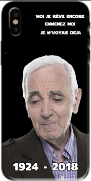 Capa Aznavour Hommage Fan Tribute para iphone-8