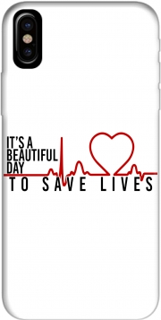 Capa Beautiful Day to save life para iphone-8